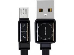 Remax Watch USB to micro USB 1m 2.4A Data/Charge (RC-113m-Black) Black