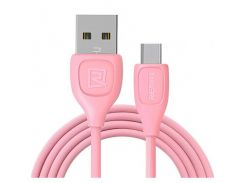 Remax Lesu USB to USB Type-C 1m 1.5A Data/Charge (RC-050a-Pink) Pink