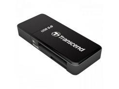 Transcend Cardreader 5-in-1 USB 3.0 microSD/HC/XC (TS-RDF5K) Black