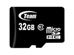Team microSDHC 32GB Class 10 (без адаптера) (TUSDH32GCL1002)
