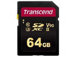 Transcend SDXC 700S MLC 64GB UHS-II U3 R285/W180MB/s Class 10 (TS64GSDC700S)