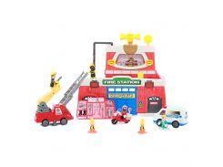 Игровой набор Keenway Пожарный участок (К12636)