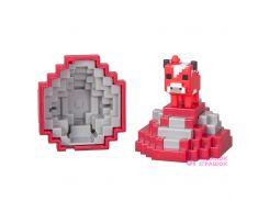 Игровой набор Яйцо Minecraft с мини-фигуркой моба Грибная корова (FMC85 / FMC86)