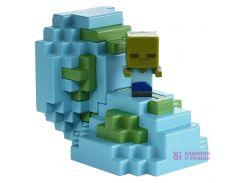 Игровой набор Яйцо Minecraft с мини-фигуркой моба Зомби (FMC85 / FMC88)