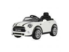 Детский электромобиль Babyhit Mini белый рулевое и дистанционное управление с эффектами (71145)