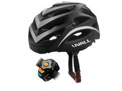 Умный шлем Livall Road Bike Helmet BH62 (White) + Контроллер Livall Bling Jet BJ100