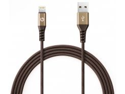 Kабель Energea AluTouch 1.5m MFI USB to Lightning (Gold)