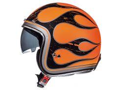 Мотошлем MT Le-Mans Flaming (Orange & Black) L