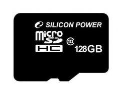 Карта памяти Silicon Power MicroSD 128Gb (Class10) SP128GBSTXBU1V20SP