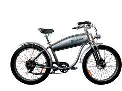 Электровелосипед Like.Bike Harley Fat (silver crome)