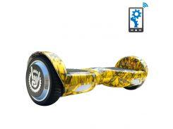Гироборд Like.Bike X6i (yellow skull)