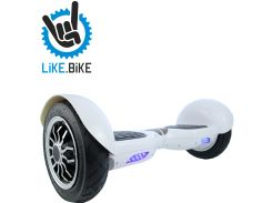 Гироборд Like.Bike X10 (Art White)