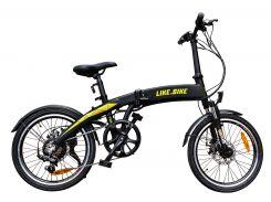 Электровелосипед Like.Bike Flash (Black/Yellow)