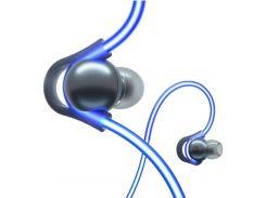Беспроводные наушники Meizu Halo LED Earbuds (Blue)