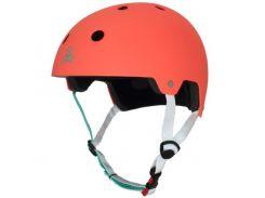 Шлем Triple8 лето DC Brainsaver Neon Tangerine S/M