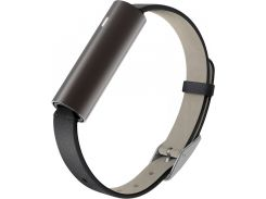 Фитнес-трекер Misfit Ray Black Leather Band (Carbon Black)