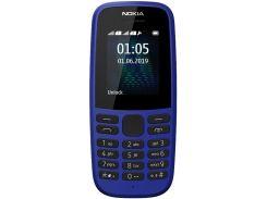 Nokia 105 Dual Sim 2019 Blue (TA-1174)