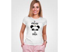 Футболка Malta 18Ж152-17-П Ninja-1 XXL Белая (2901000176871)
