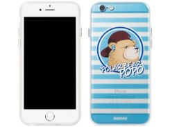 Накладка Remax Polar Bear для iPhone 6S/6 Blue