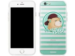 Накладка Remax Polar Bear для iPhone 6S/6 Green