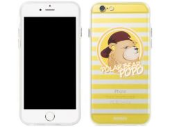Накладка Remax Polar Bear для iPhone 6S/6 Yellow