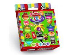 Тесто для лепки Master-Do DankO toys 12 цветов (7521DTR)