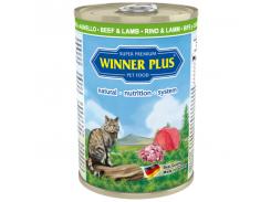 Консервы с говядиной и ягненком Winner Plus Super Premium Cat 395 г (100047-2)