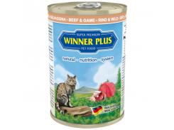 Консервы с говядиной и олениной Winner Plus Super Premium Cat 395 г (100049-2)