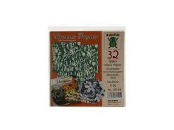 Бумага для оригами (32шт) Nice Paper 10х10см Зеленый, Белый