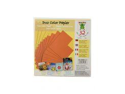 Бумага для оригами (32шт) Nice Paper 15х15см Оранжевый