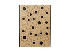 """Карточка для творчества """"Пустышки"""" Dutch Doobadoo 21х15см Коричневый tvo0000335"""