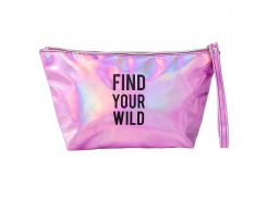 Косметичка FIND YOUR WILD Ярко-розовая (hub_xkOC41790)