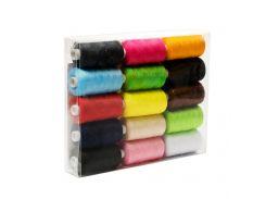 Набор нитей (для шитья 15 цветов) Lotus Products Uni Разноцветный tvo0000007