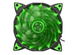 Кулер для корпуса Vinga 12025-15-G Green (12025-15-G)