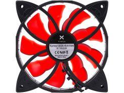 Кулер для корпуса Vinga 12025-15-R Red (12025-15-R)