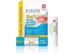 Концентрированная сыворотка для губ Eveline Cosmetics 8 в 1 Total Action