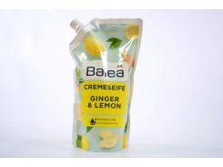Жидкое крем-мыло запаска Denkmit Balea Cremeseife Ginger & Lemon 500 мл (223080)