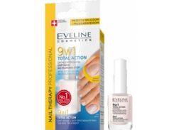Концентрированная сыворотка для ногтей Eveline Cosmetics Nail Therapy Professional 9 in 1 Total Action (96074)