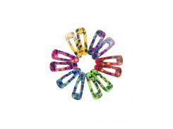 Набор заколок для волос (12шт) Da Vinci 3,5х1,3см Разноцветный biz0000870