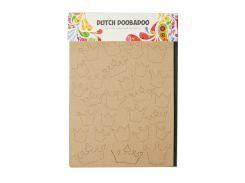 """Карточка для творчества """"Короны"""" Dutch Doobadoo 21х15см Коричневый tvo0000316"""