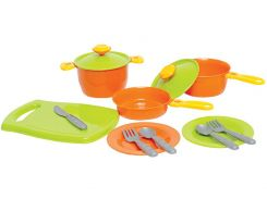 Набор посуды ТехноК 3251 Разноцветный (222368)
