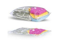 Вакуумный пакет для одежды MHZ 60х80 см Прозрачный (003735)