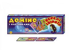 Домино ТехноК 2544 Веселые зверята (bc-tx-1566)