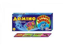 Домино ТехноК 0762 Веселые зверята (bc-tx-1575)