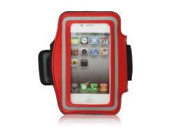 Спортивный чехол Epik на руку для Apple iPhone 4/4S Красный (28686)