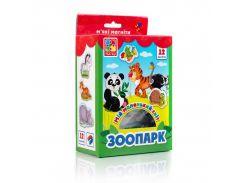 Мой маленький мир на магнитах Vladi Toys Зоопарк VT3106-10 укр