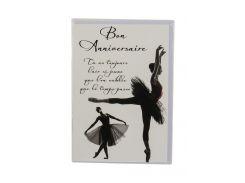 """Открытка поздравительная """"Балерина"""" Vadebo Cards 17х11,5см Разноцветный kan0000623"""
