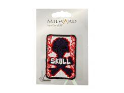 "Тканевая нашивка на одежду ""Skull"" Milward 5х6,5см Разноцветный hoz0001618"