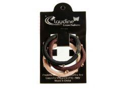 Набор резинок (3шт) Claudine D=5см Черный, Бежевый, Коричневый (DI66995926218)