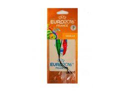 "Ароматизатор в машину ""Vanilla"" TM UEFA EURO 2016 10х7см Белый (DI66930647435)"